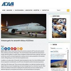 Vistara gets its seventh Airbus A320neo