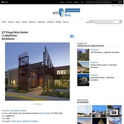 UT Visual Arts Center / Lake