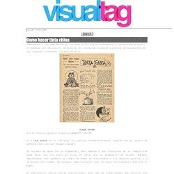 visual tag: Como hacer tinta china