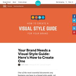 Your Brand Needs a Visual Style Guide: Here's How to Create One