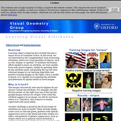 Visual Geometry Group Home Page