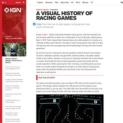 A Visual History of Racing Games