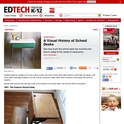 A Visual History of School Desks