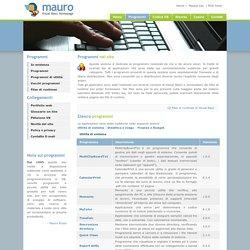 Mauro Visual Basic Homepage - Programmi