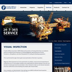 Visual Inspection Service