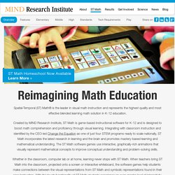 ST Math is a Visual Math Instructional Software