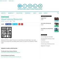 Visual Literacy Resources