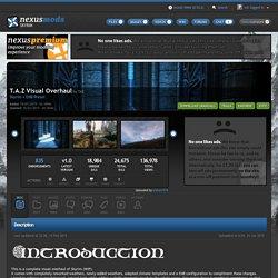 T.A.Z Visual Overhaul at Skyrim Nexus