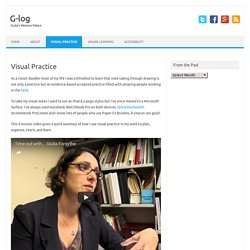 Visual Practice – G-log