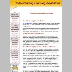 Special education high school tool box for students and for Visual motor processing disorder