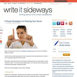 Write It Sideways » Blog Archive » 5 Visual Strategies for Plotting Your Novel