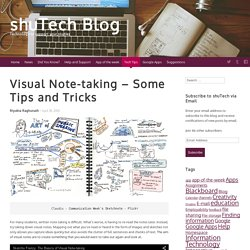 Visual Note-taking – Some Tips and Tricks