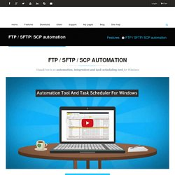 FTP / SFTP / SCP automation