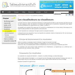 Visualisateurs ou visualiseurs et tableau blanc interactif
