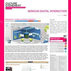 Phénomène : la data-visualisation interactive