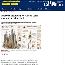 Data visualisation: how Alberto Cairo creates a functional art
