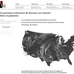 Visualisation interactive de données sur internet.