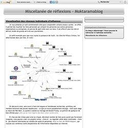Visualisation des réseaux individuels d'influence - Miscellanée