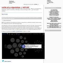 Twitter: Spot, une visu des tweets en temps réel sous forme de particules