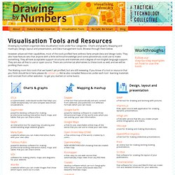 Visualisation Tools and Resources | Drawing by Numbers