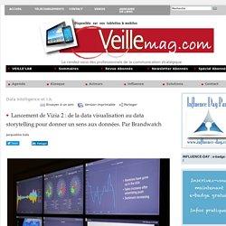 Lancement de Vizia 2 : de la data visualisation au data storytelling pour donner un sens aux données. Par Brandwatch