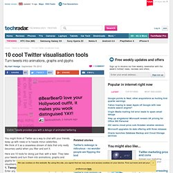10 cool Twitter visualisation tools