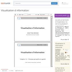 Visualisation d information - PDF Téléchargement Gratuit