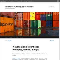 Visualisation de données: Pratiques, formes, éthique