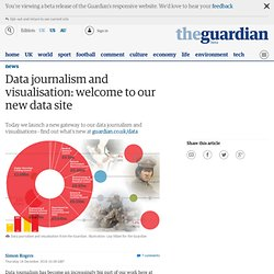 Data journalism and visualisation: welcome to our new data site | News
