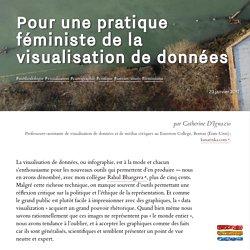 Pour une pratique féministe de la visualisation de données - Catherine D'Ignazio - Visionscarto