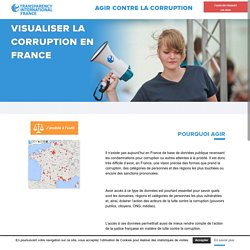 VISUALISER LA CORRUPTION EN FRANCE