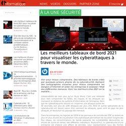 15 tableaux de bord pour visualiser les cyberattaques à travers le monde.