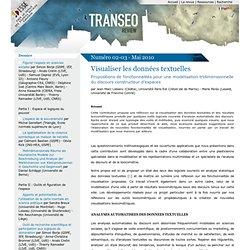 Visualiser les données textuelles - Transeo Review