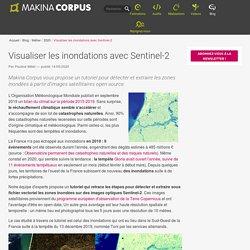 Visualiser les inondations avec Sentinel-2
