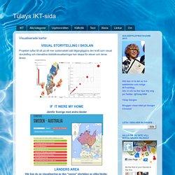 Tülays IKT-sida: Visualiserade kartor