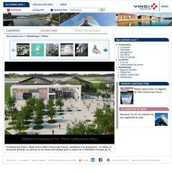 Projet de VINCI construction au cour de l'année 2014