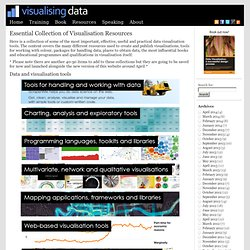 Visualising Data » Resources