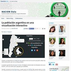 [Cartographie] La población argentina en una visualización interactiva