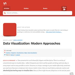 Data Visualization: Modern Approaches « Smashing Magazine