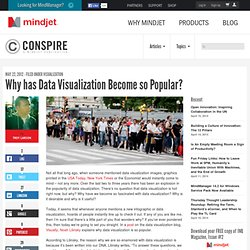 Why has Data Visualization Become so Popular?