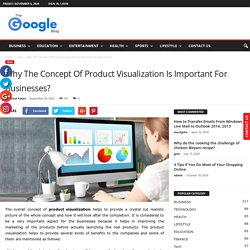Why The Concept Of Product Visualization Is Important For Businesses? - Google Blog