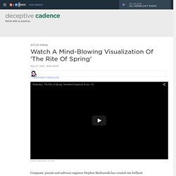 Watch A Mind-Blowing Visualization Of 'The Rite Of Spring' : Deceptive Cadence