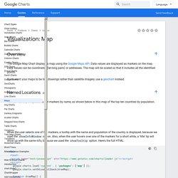 Visualization: Map - Google Charts