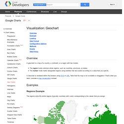 Visualization: Geochart - Google Chart Tools - Google Code