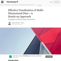 Effective Visualization of Multi-Dimensional Data—A Hands-on Approach