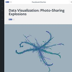 Facebook Stories - Data Visualization: Photo-Sharing Explosions