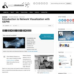 Introduction to Network Visualization with GEPHI