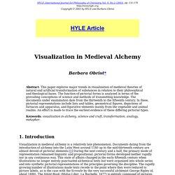 9-2 (2003): Visualization in Medieval Alchemy