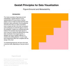 Gestalt Principles for Data Visualization: Figure/Ground and Metastability
