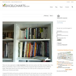 Data visualization books: How to start your personal library The Excel Charts Blog